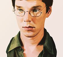 Benedict Cumberbatch digital portait by Ree-sah
