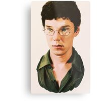 Benedict Cumberbatch digital portait Metal Print