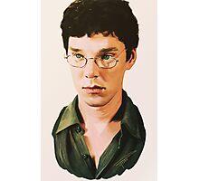 Benedict Cumberbatch digital portait Photographic Print