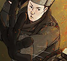Mycroft is a badass by Ree-sah