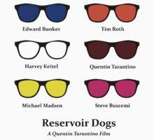 Reservoir Dogs Sunglasses Tee by JoeDigitalMedia