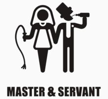 Master & Servant (Wedding / Black) by MrFaulbaum