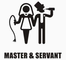 Master & Servant (Wedding / Black) by MrFaulbaum
