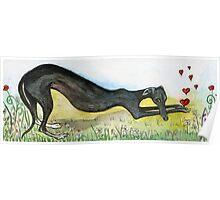 Sending a little love Poster
