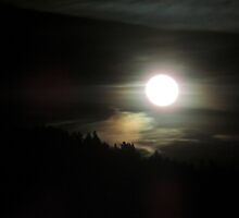 January's Old Moon by Betty  Town Duncan