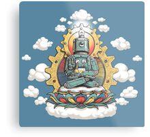 Buddha Bot v6 Metal Print
