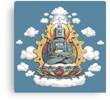 Buddha Bot v6 Canvas Print