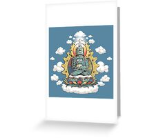 Buddha Bot v6 Greeting Card