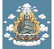 Buddha Bot v6 Photographic Print