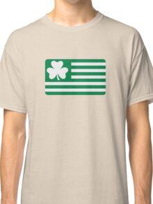 Irish shamrock flag Classic T-Shirt
