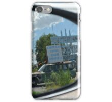 Eras in the mirror are closer than they appear iPhone Case/Skin