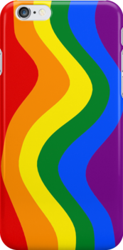Smartphone Case - Rainbow Flag 4 by Mark Podger