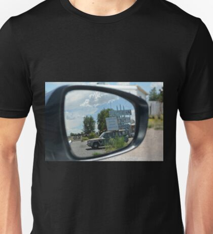 Eras in the mirror are closer than they appear Unisex T-Shirt