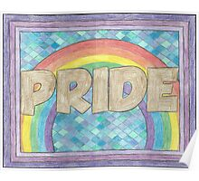 Pride in who you are Poster