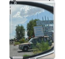 Eras in the mirror are closer than they appear iPad Case/Skin