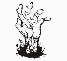 ZOMBIE HAND by Tony  Bazidlo