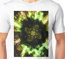 Cosmic Solar Flower Fern Flare Unisex T-Shirt