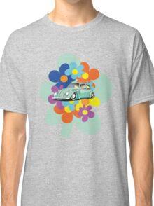 VW Beetle Flower Bug Classic T-Shirt