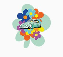 VW Beetle Flower Bug Unisex T-Shirt