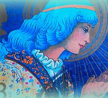 Angel in Blue by ©The Creative  Minds