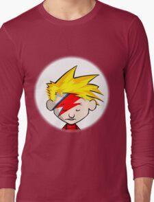 Calvin Hobbes Stardust Long Sleeve T-Shirt