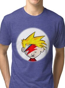 Calvin Hobbes Stardust Tri-blend T-Shirt