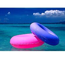 Floats-Puerto Rico Photographic Print