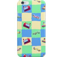 Toy Patchwork iPhone Case/Skin