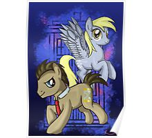 Dr Whooves and Derpy Poster