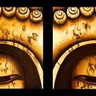 Buddha Eyes Diptych  by sumrow