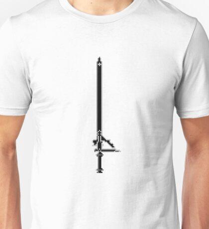 Pixel Series - Kirito's sword Elucidator Unisex T-Shirt