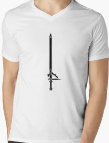 Pixel Series - Kirito's sword Elucidator Mens V-Neck T-Shirt