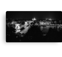 The View from Buda Castle Canvas Print