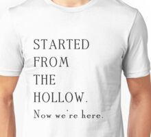 Gilmore Girls - Started from the Hollow Unisex T-Shirt