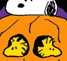 Snoopy Peanuts Camp Spooky Sticker