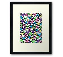 Heart Puzzle Framed Print