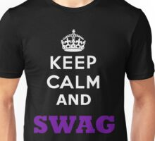 keep calm and swag Unisex T-Shirt