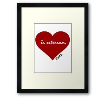 Eternal Love Framed Print