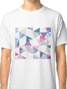 Rainbow Triangle Pattern Classic T-Shirt