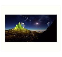 Under The Dome of Heaven Art Print