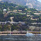 View from Villefranche Bay by Tom Gomez