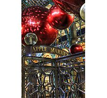 Apple Market Photographic Print