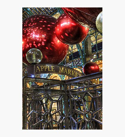 Apple Market Photographic Print
