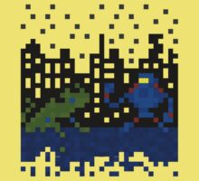 8-bit Kaiju Kids Tee