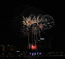 Perth Fireworks  by EOS20