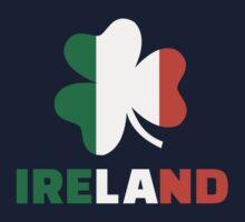 Ireland flag shamrock Kids Tee