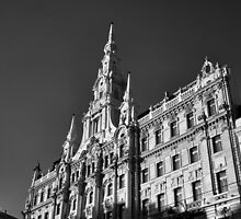 Façade of the New York Café, Budapest by Rodney Johnson