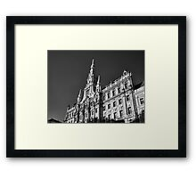 Façade of the New York Café, Budapest Framed Print