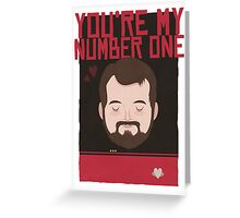 Number One Greeting Card