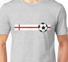 Football Stripes England Unisex T-Shirt